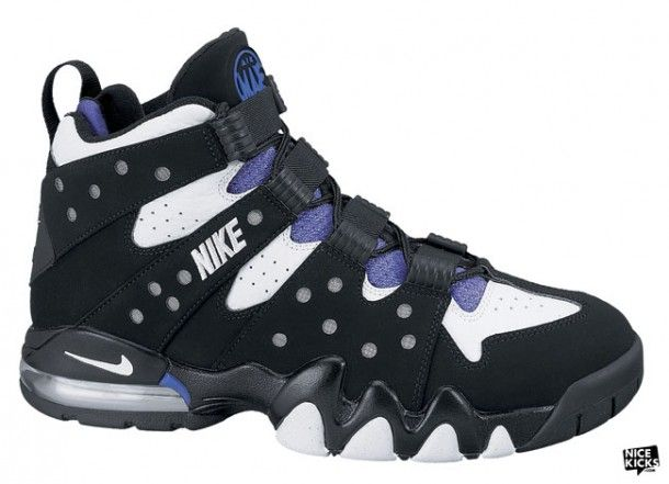 Nike Air Max 2 CB 1994 Charles Barkley my youngest son shoes when he was in  kiddie school