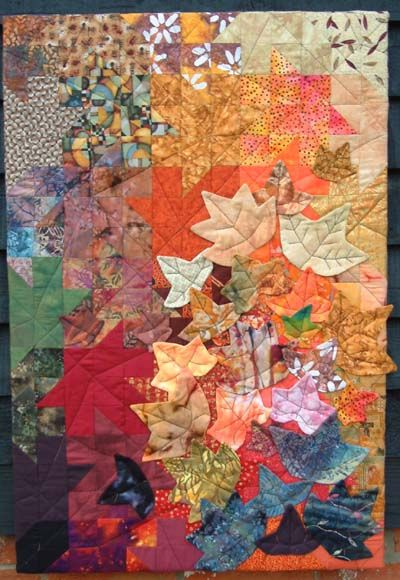 Autumn quilt for september
