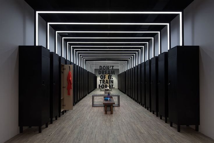 The Stylish Sweat: Coordination Asia Transforms Art Gallery into Nike Studio Beijing — KNSTRCT