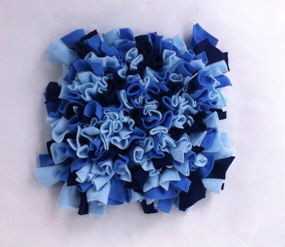 Snuffle mat: dog toy puzzle for dog enrichment and mental stimulation