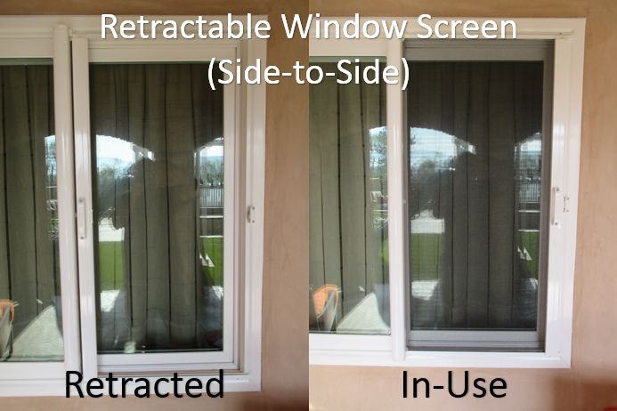 Top 25 best retractable window screens ideas on pinterest for Windows with retractable screens