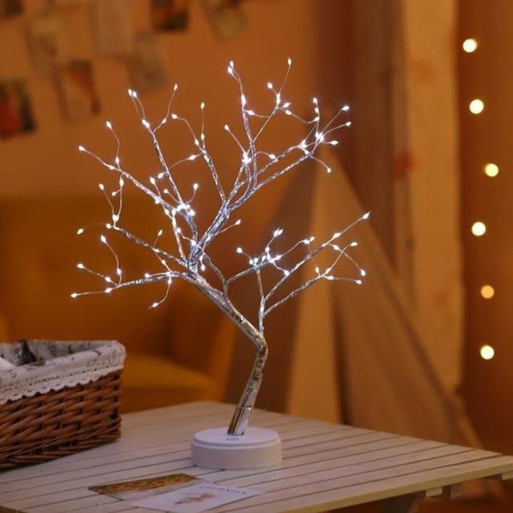 Led Spirit Trees Modernindigo Fairy Lights In Trees Tree Lamp Fairy Lights