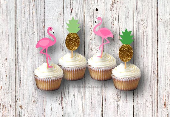 Hey, I found this really awesome Etsy listing at https://www.etsy.com/listing/269509319/flamingo-party-cupcake-picks-cupcake