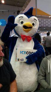 Spiel '17 Icecool Maskottchen