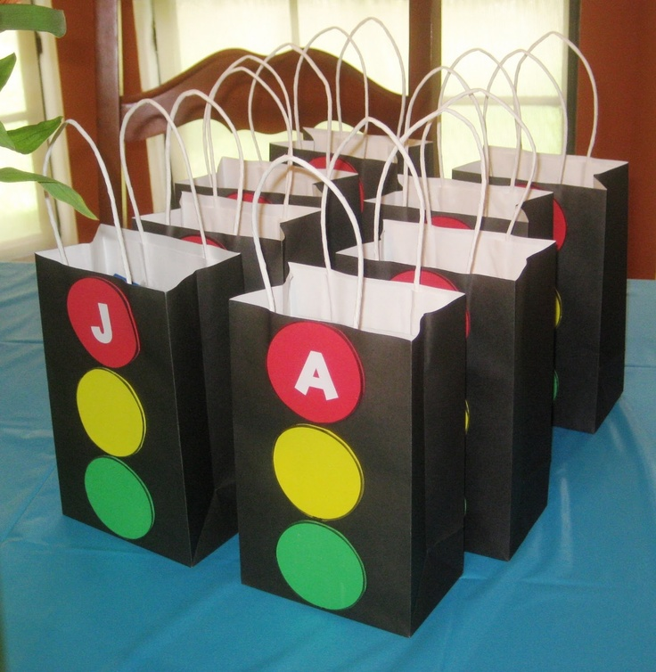 A Simple Favor Stoplight Bags
