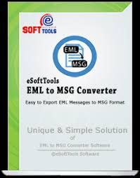 EML to MSG Converter tool is a tool of eSoftTools that is using for converting EML files into MSG files.It convert batch conversion of EML files.This tool support unlimited size for loading EML files.It also convert mail clients such as windows live mail, windows,outlook express and thunderbird mail clients. Click here for more info: http://www.emltomsgconverter.excelunlockertool.com/