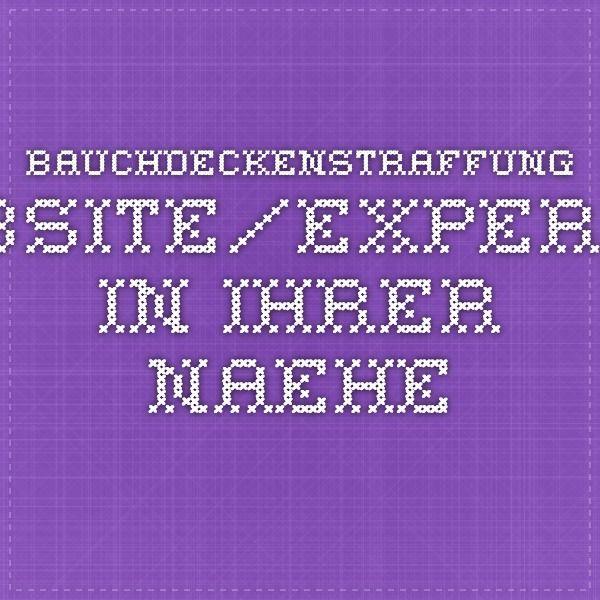 bauchdeckenstraffung.website/experten-in-ihrer-naehe