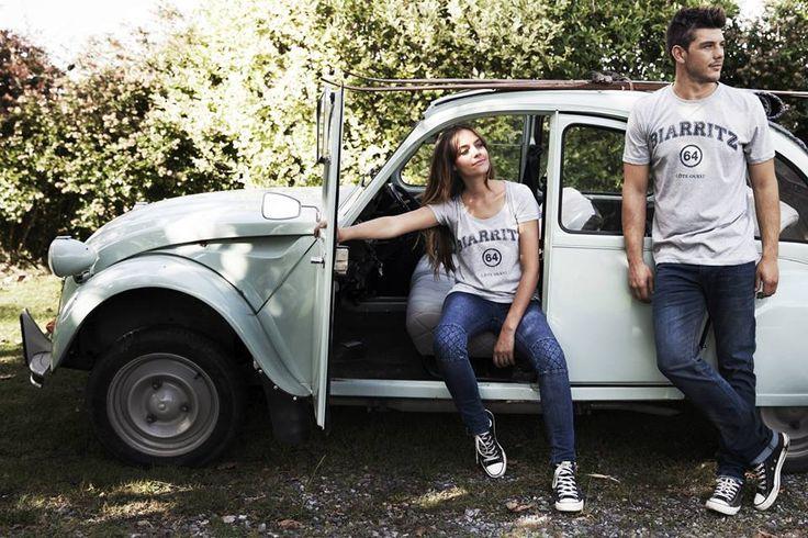 T-shirts femme et homme - La marque 64 - Collection vintage