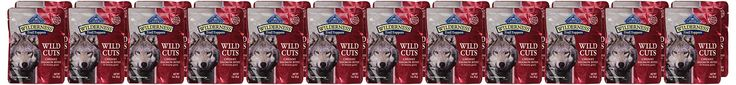 Blue Buffalo Wilderness Trail Toppers Chunky Salmon Bites Dog Food 24 by 3 oz.