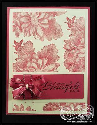 The Serene Stamper: Heartfelt Blooms Quick Cards