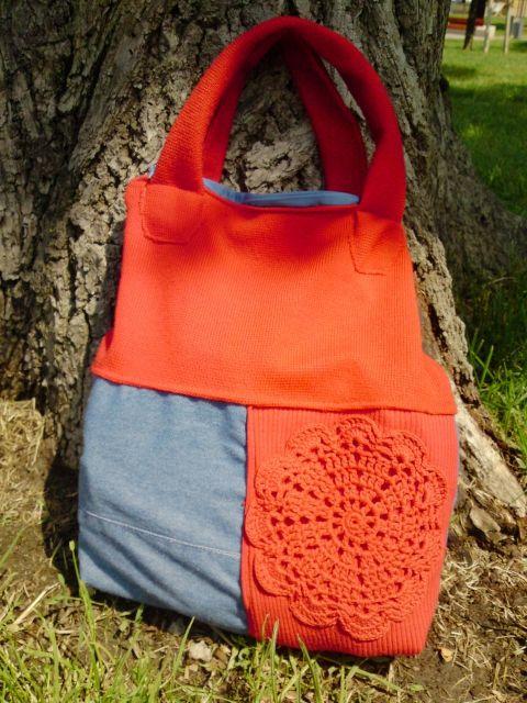 Excentrikus női táska, caterinetta, meska.hu