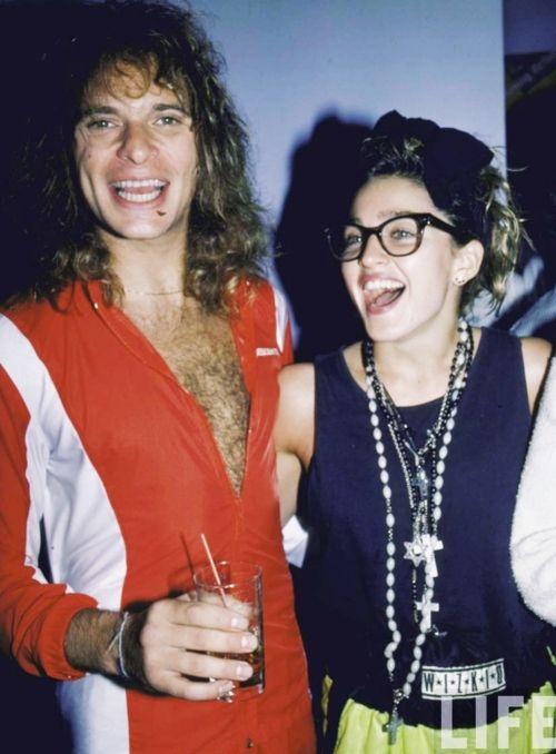 David Lee Roth & Madonna