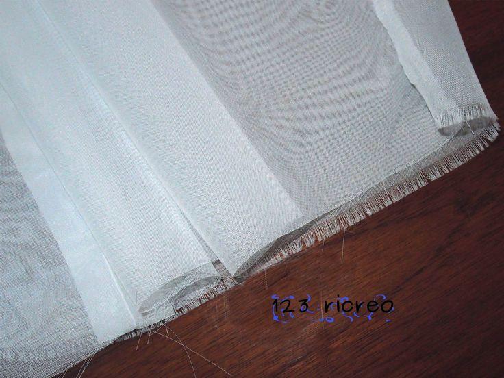 Come si fa un #orlo a tessuti #trasparenti - 123ricreo