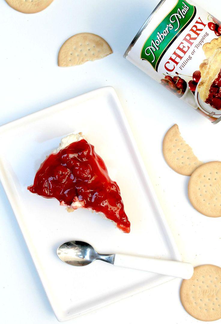 Kersen cream cheese taart
