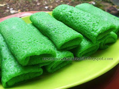 Resep Dadar Gulung Isi Unti Kelapa   Resep Kue Basah Tradisional Indonesia (Indonesian Food Recipe)