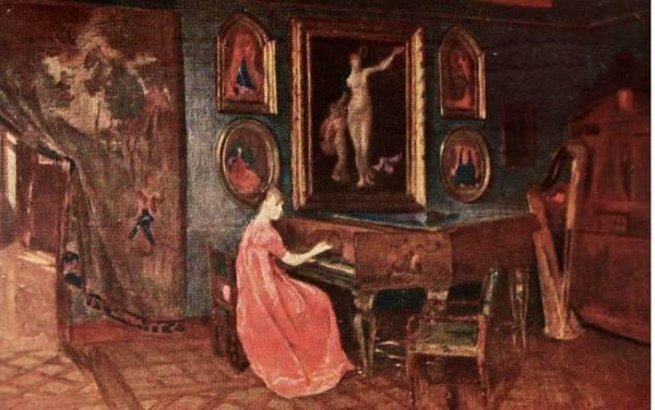 Harriet Backer - Paris, 1881
