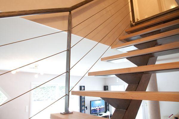 les 25 meilleures id es de la cat gorie cable inox sur pinterest rampe escalier inox cable. Black Bedroom Furniture Sets. Home Design Ideas