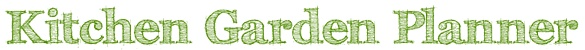 Garden planner--map out where everything is going to be planted.