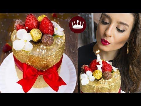 """GLOW CAKE - Bolo de Glitter Comestível (""""Brilhante"""")   Cozinha do Bom Gosto   Gabi Rossi - YouTube"""