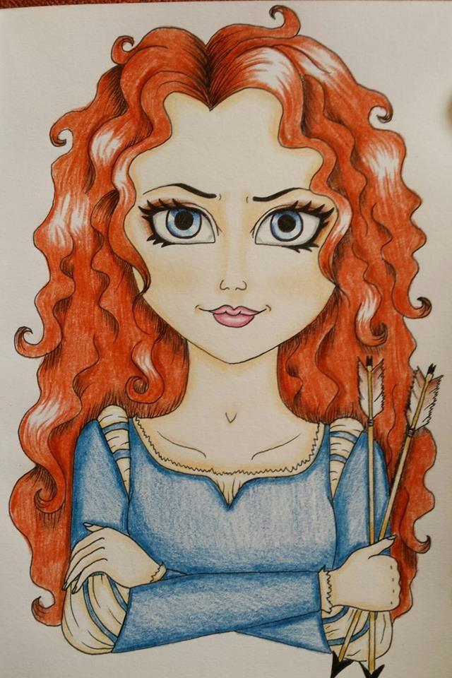 Merida drawing