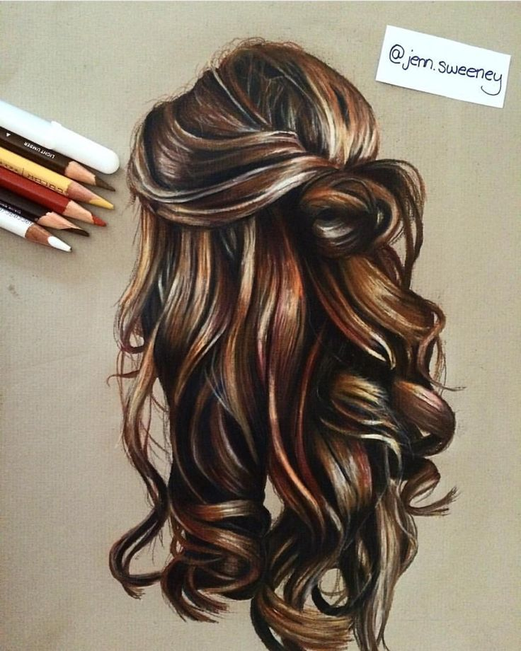 "Instagram Art Featuring Page on Instagram: ""Hair Study By @jenn.sweeney _"