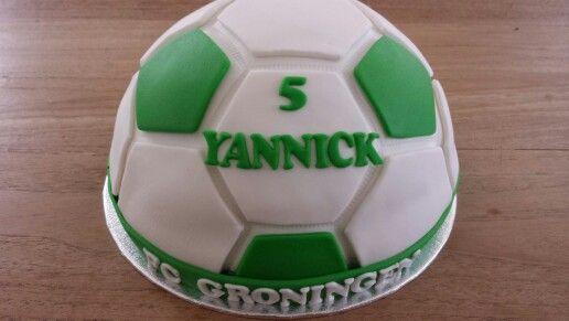Fc Groningen taart.