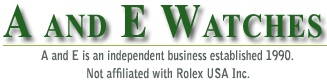 A Watches is the World's Number One Retailer of Pre-Owned and Unused Rolex Watches and all High-end Swiss watches. We can get all models including Rolex Datejusts, Daytonas, GMT Masters, Presidents and Submariners