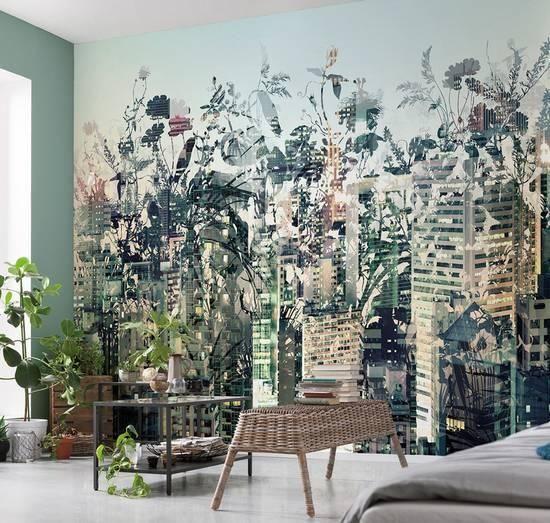 Urban Jungle Wall Mural Wallpaper Mural at AllPosters.com