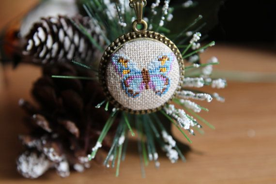 Hey, I found this really awesome Etsy listing at https://www.etsy.com/listing/261883594/cross-stitch-necklacehandmade