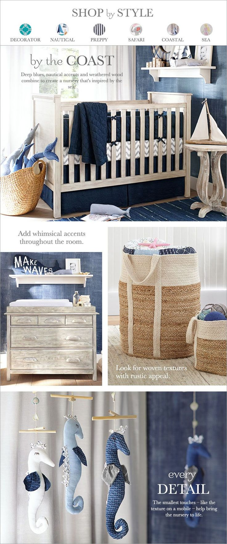 ::sea/sailboat nursery theme::