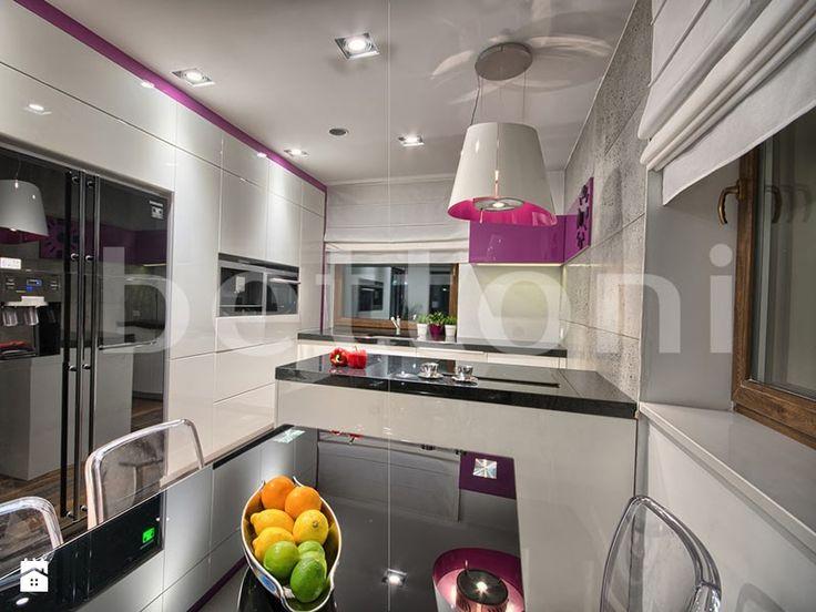 Kuchnia na wysoki połysk - zdjęcie od Bettoni - Beton Architektoniczny - Kuchnia - Styl Nowoczesny - Bettoni - Beton Architektoniczny
