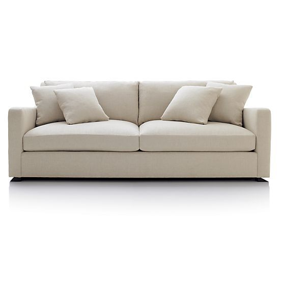 LOVE this couch.   Verano Sofa in Sofas | Crate and Barrel
