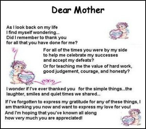 Mother's Day Quotes for Deceased Mother's | Mothers Quotes|Poems About Mothers|Moms Poems|Sayings|Quote|Mother|Mom ...
