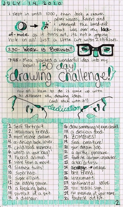 drawing challenge                                                                                                                                                                                 More