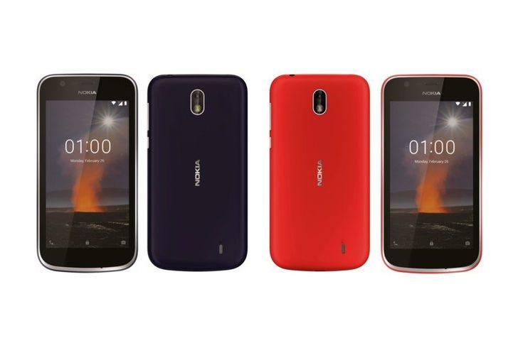 Nokia TA-1071 Disertifikasi FCC Nokia 1?