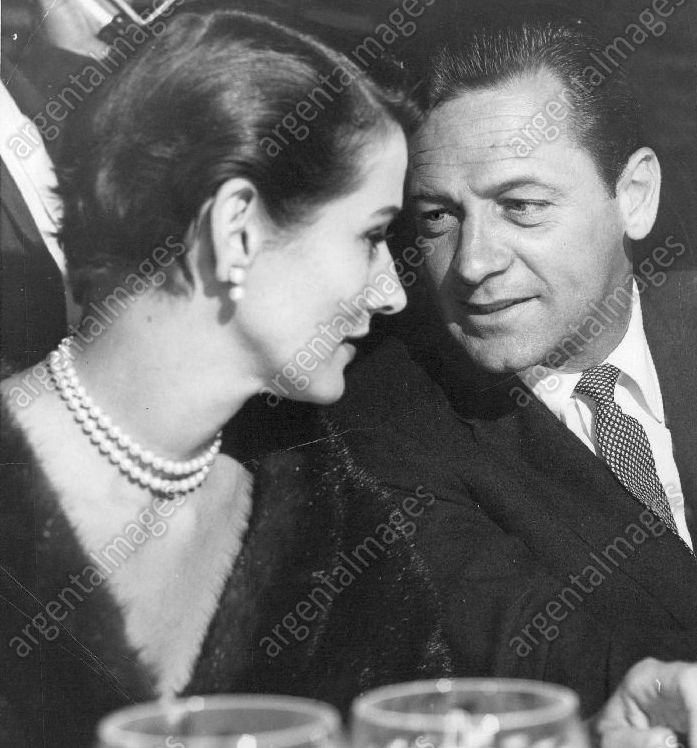 William Holden with his wife Brenda Marshall 1950's