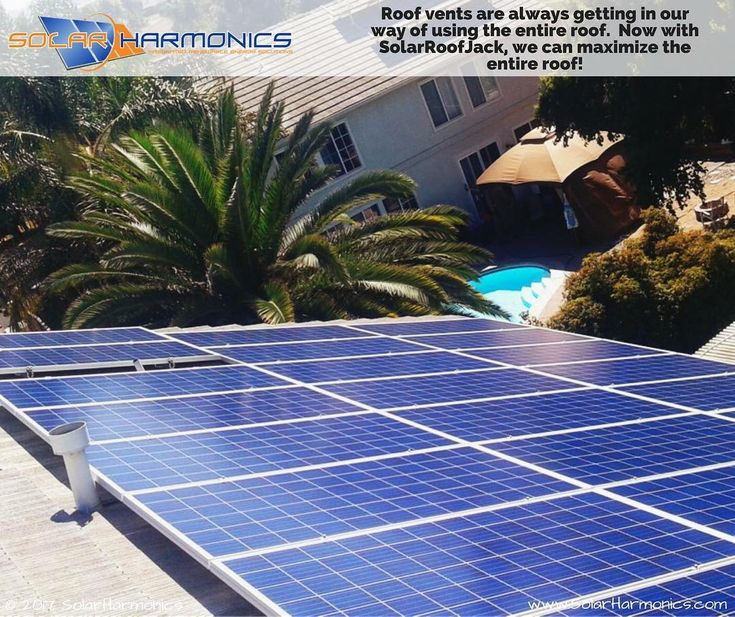 Roof Vents Are Always Getting In Our Way Of Using The Entire Roof. Now With Solar  Roof Jack We Can Maximize The Entire Roof! This System Features: Canadian  ...