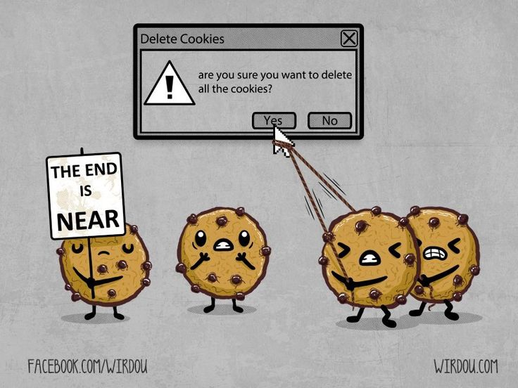 Cookies, the end is near - Happy drawings :)