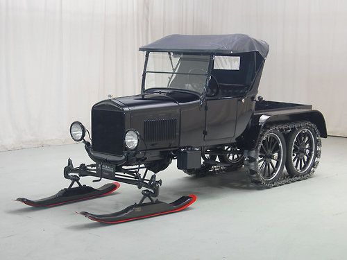 1926 Ford Snowmobile. And who said your grandparents didn't know how to have fun?