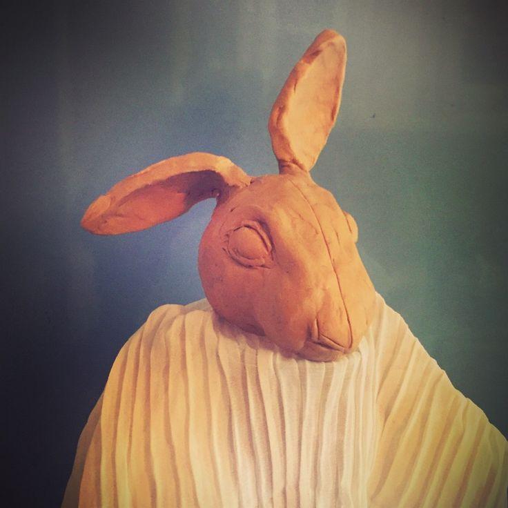 #кроликиэтонетолькоценныймех #   #скульптура #институт #пластилин #ялеплюизпластилина #этоктото #заяц #или #кролик #коекто #волшебство #кукла #куклы #кукларучнойработы #творчество #авторскаякукла #дизайн #dolls #doll #rabbit  #handmade #fantasy #fantasyart #design