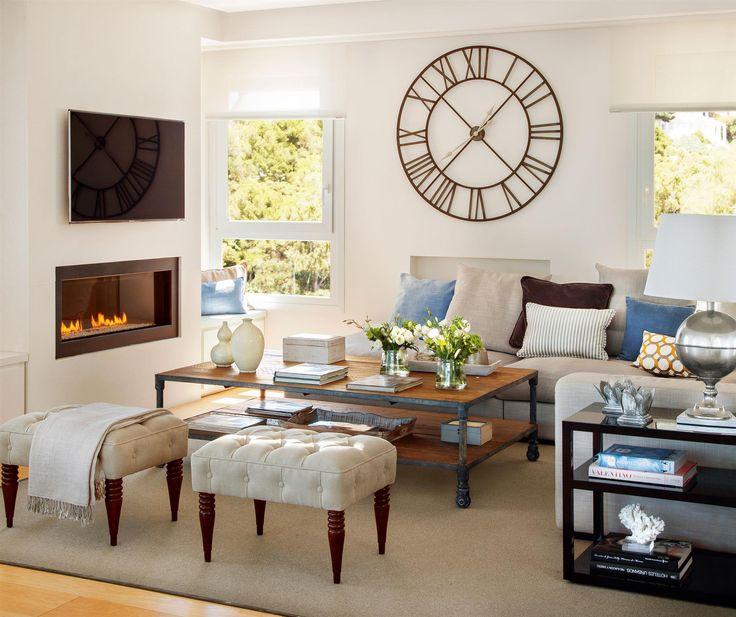 17 mejores ideas sobre decoraci n del reloj de pared en pinterest reloj grande grandes - Relojes de decoracion ...