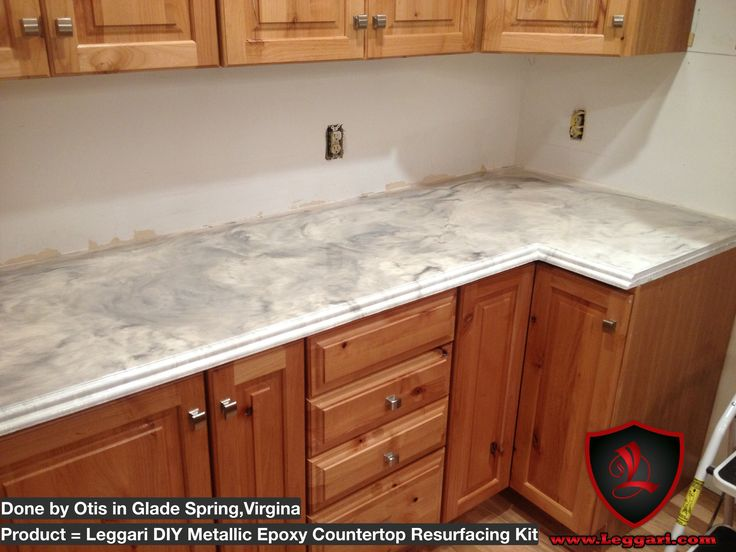 This Diyer Didn T Stop With His Countertops He Also Coated