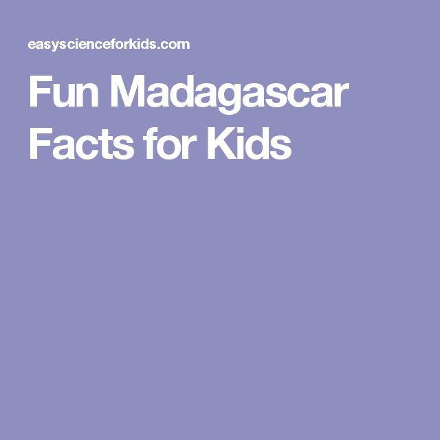 Fun Madagascar Facts for Kids