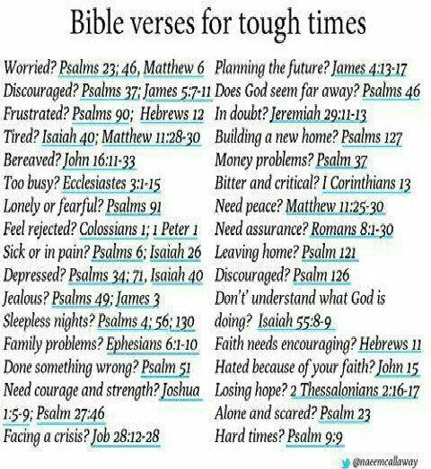 Bible verses, defiantly saving these