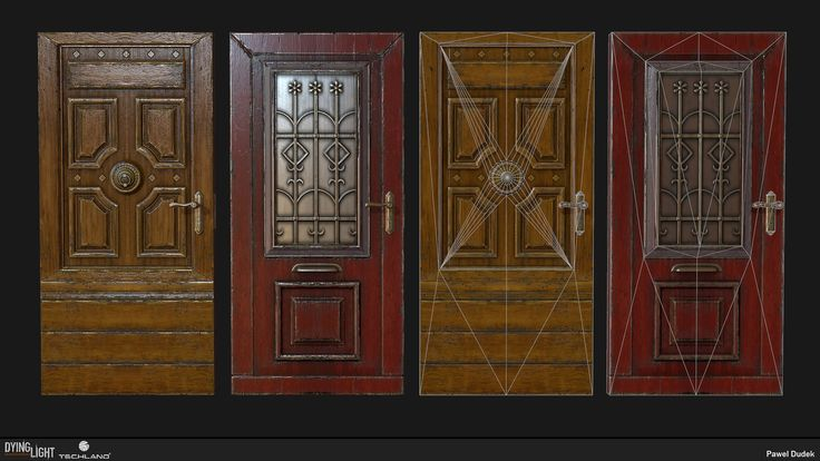 Dying Light - Doors, Pawel Dudek on ArtStation at https://www.artstation.com/artwork/dying-light-doors