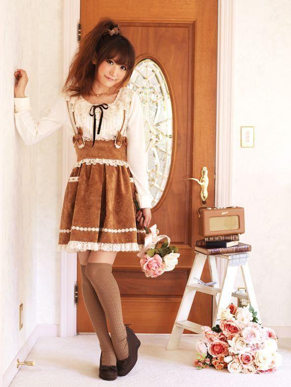 #fashion #mori_girl