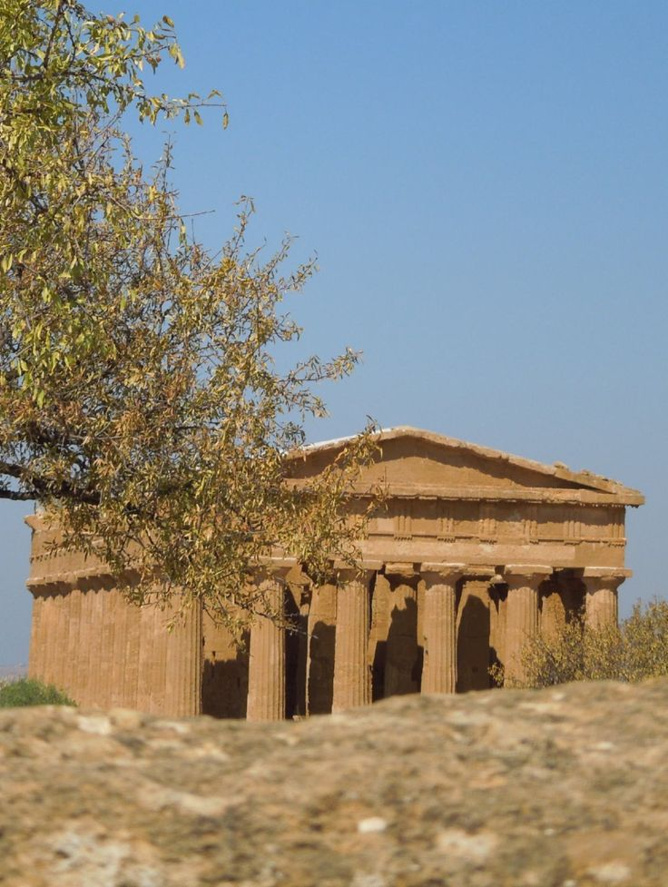 Temple of Concordia (Greek, 440 BC), Valley of the Temples, Sicily