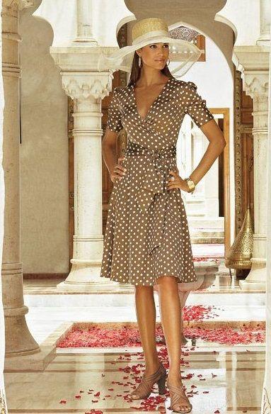 Платье с запАхом - Ярмарка Мастеров - ручная работа, handmade