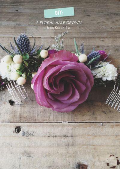 Inspiracion coronas de Flores. Un punto boho para regalar