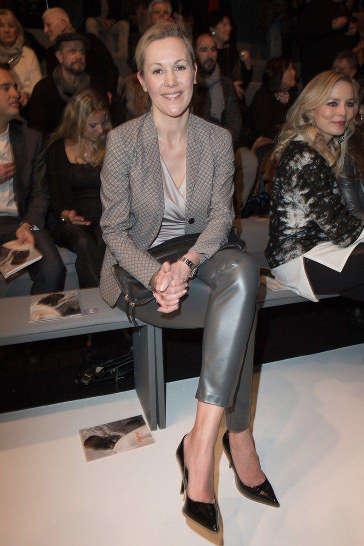 Pin for Later: Die Stars besiedeln Berlin während der Fashion Week Bettina Wulff
